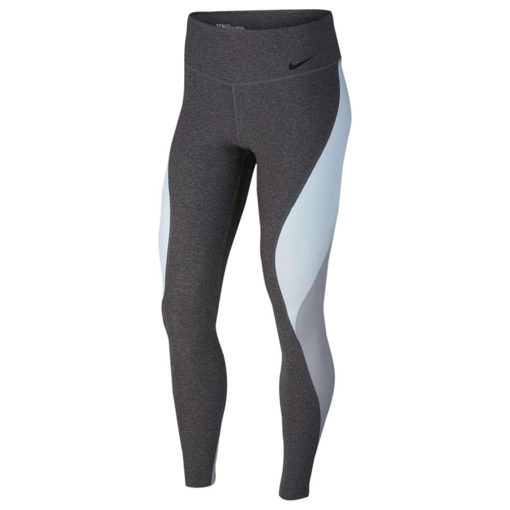 ナイキ Nike レディース フィットネス・トレーニング トップス【Power Legend Tights】Charcoal Heather/Glacier Blue
