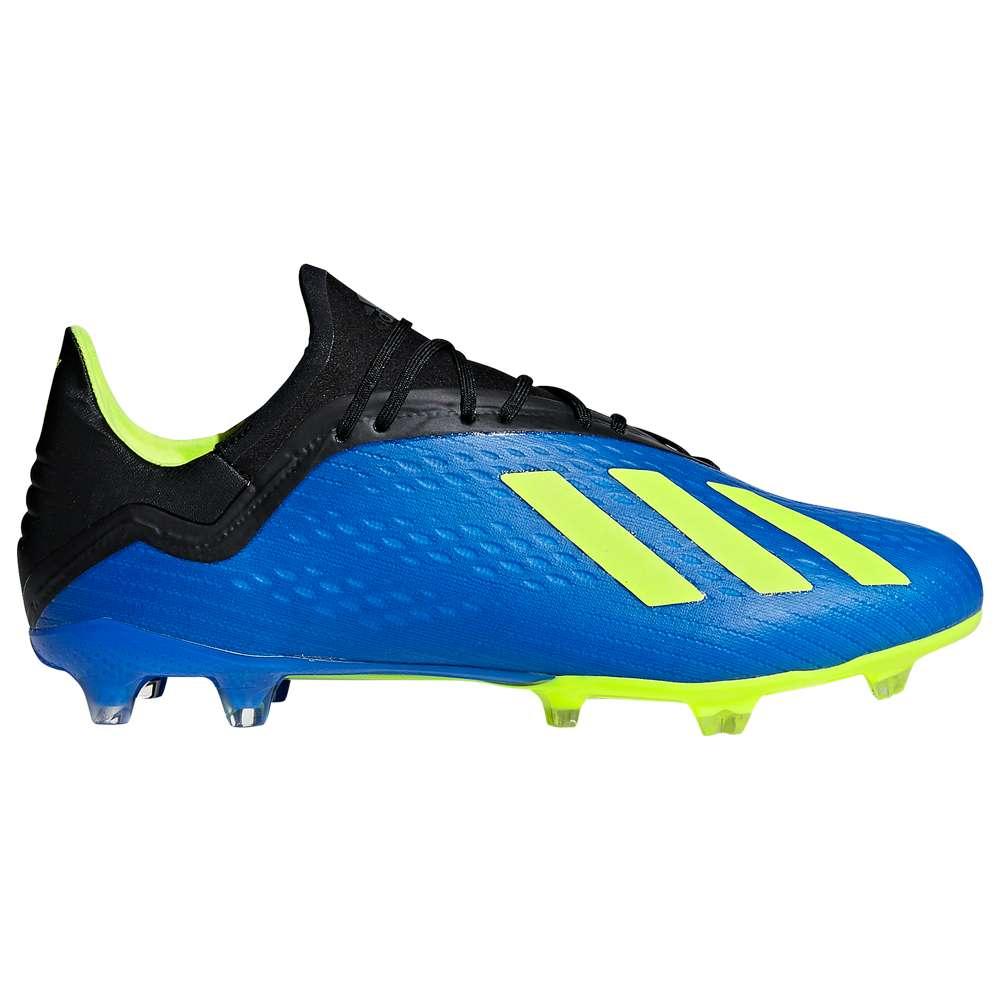 アディダス adidas メンズ サッカー シューズ・靴【X 18.2 FG】Football Blue/Solar Yellow