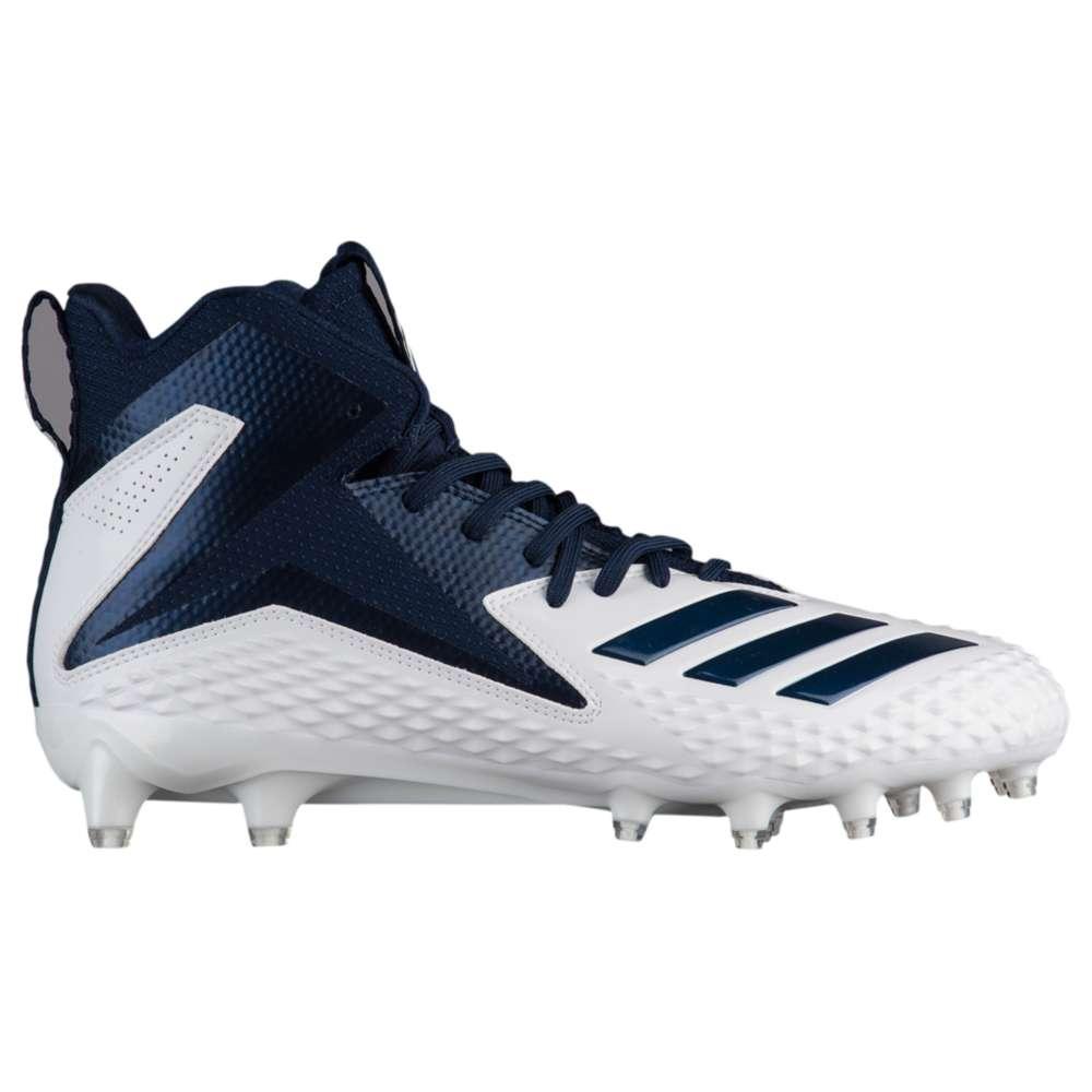 アディダス adidas メンズ アメリカンフットボール シューズ・靴【Freak X Carbon Mid】White/Collegiate Navy/Collegiate Navy
