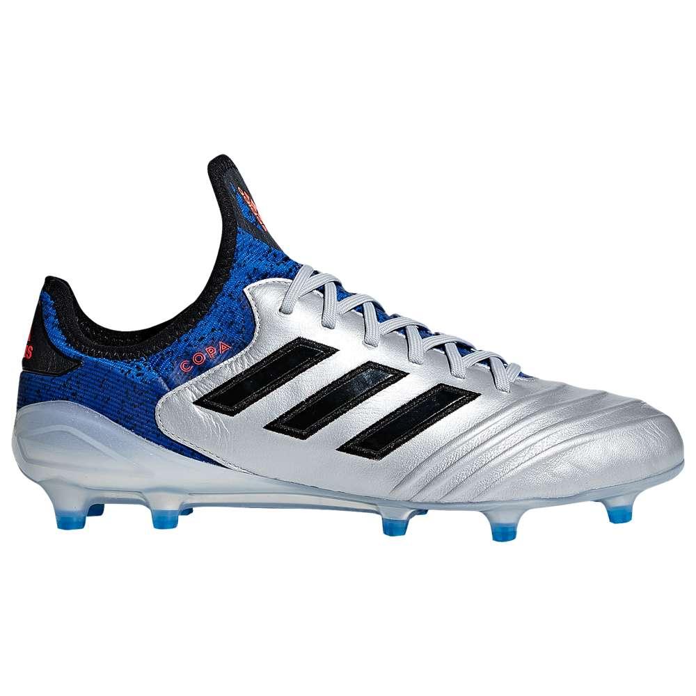 アディダス adidas メンズ メンズ サッカー アディダス adidas シューズ・靴【Copa 18.1 FG】Silver Metallic/Core Black/Football Blue, 加茂市:b71bba0e --- sunward.msk.ru