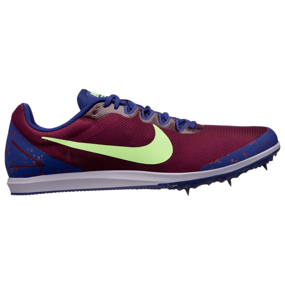 ナイキ Nike メンズ 陸上 シューズ・靴【Zoom Rival D 10】Bordeaux/Lime Blast/Regency Purple/Provence Purple