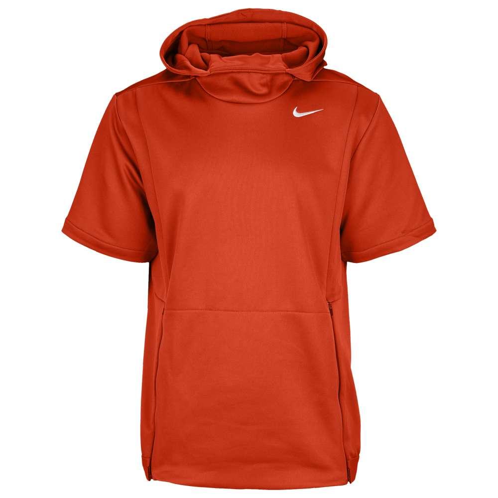ナイキ Nike メンズ トップス【Team Authentic Therma S/S Top】Team Orange/Black/White