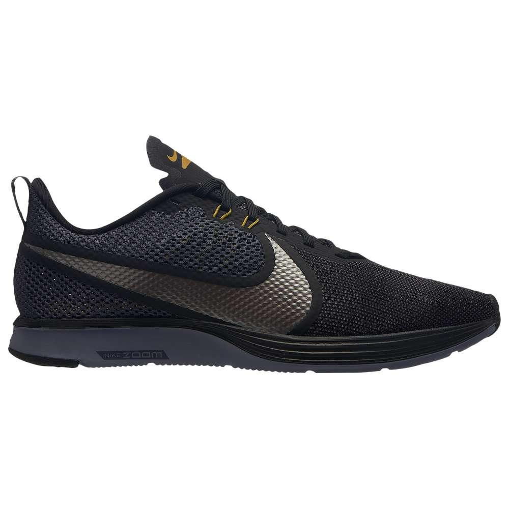 ナイキ Nike メンズ ランニング・ウォーキング シューズ・靴【Zoom Strike 2】Black/Metallic Pewter/Gridiron/Peat Moss