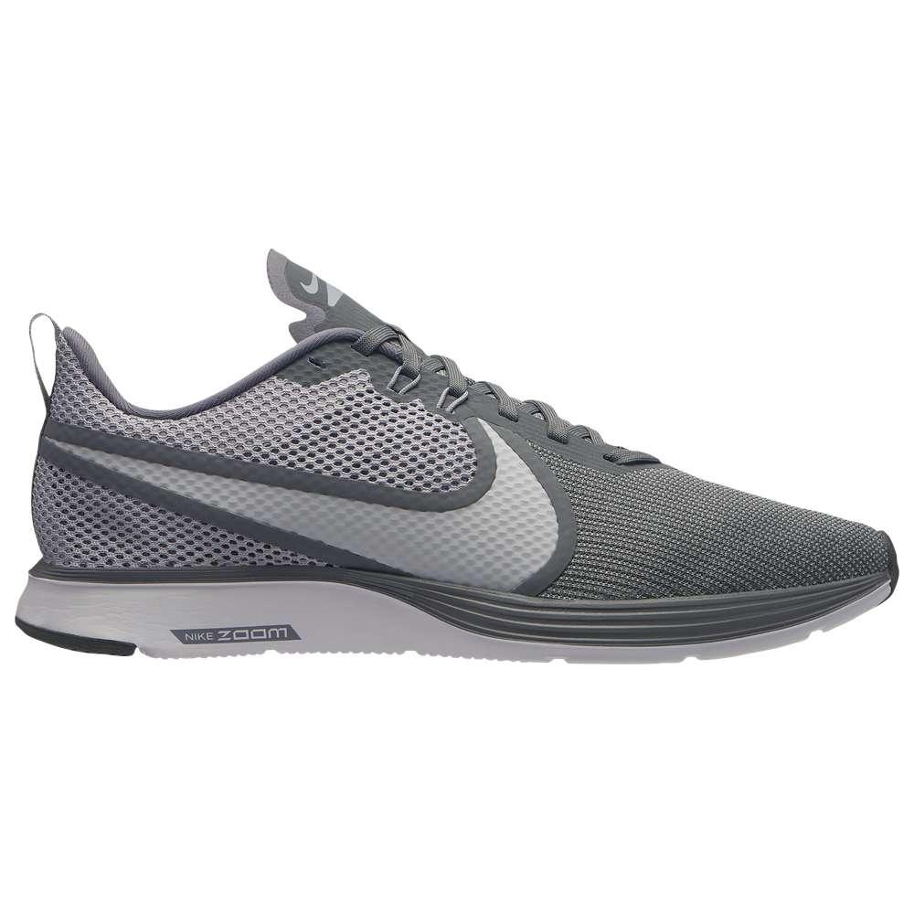 ナイキ Nike メンズ ランニング・ウォーキング シューズ・靴【Zoom Strike 2】Wolf Grey/White/Cool Grey