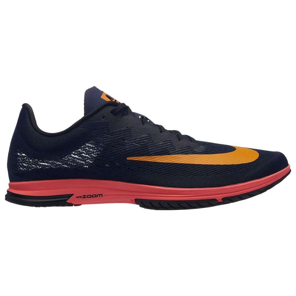 ナイキ Nike メンズ 陸上 シューズ・靴【Zoom Streak LT 4】Blackened Blue/Orange Peel/Black/Flash Crimson