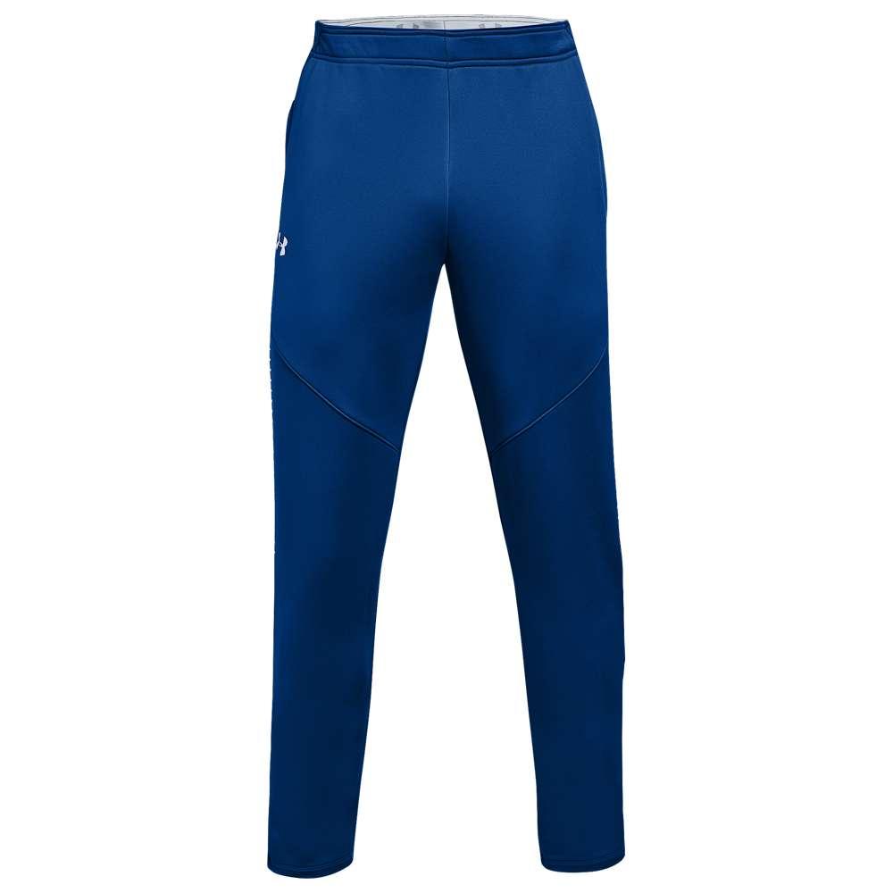 アンダーアーマー Under Armour メンズ フィットネス・トレーニング ボトムス・パンツ【Team Qualifier Hybrid Warm-Up Pants】Royal/White
