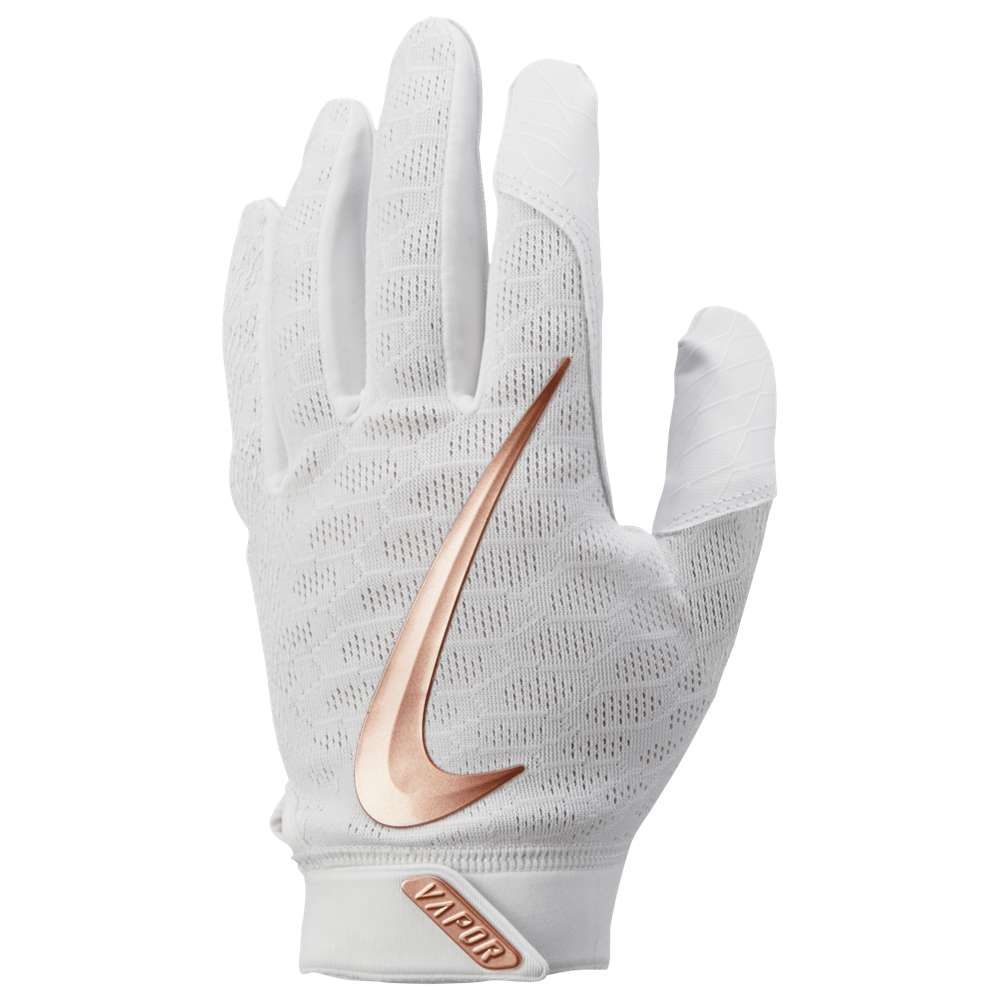 ナイキ Nike メンズ 野球 グローブ【Vapor Elite Batting Gloves】White/White/Metallic Red Bronze