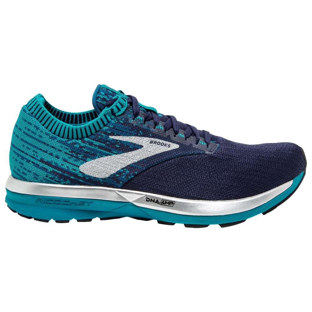 ブルックス Brooks レディース ランニング・ウォーキング シューズ・靴【Ricochet】Navy/Blue/White