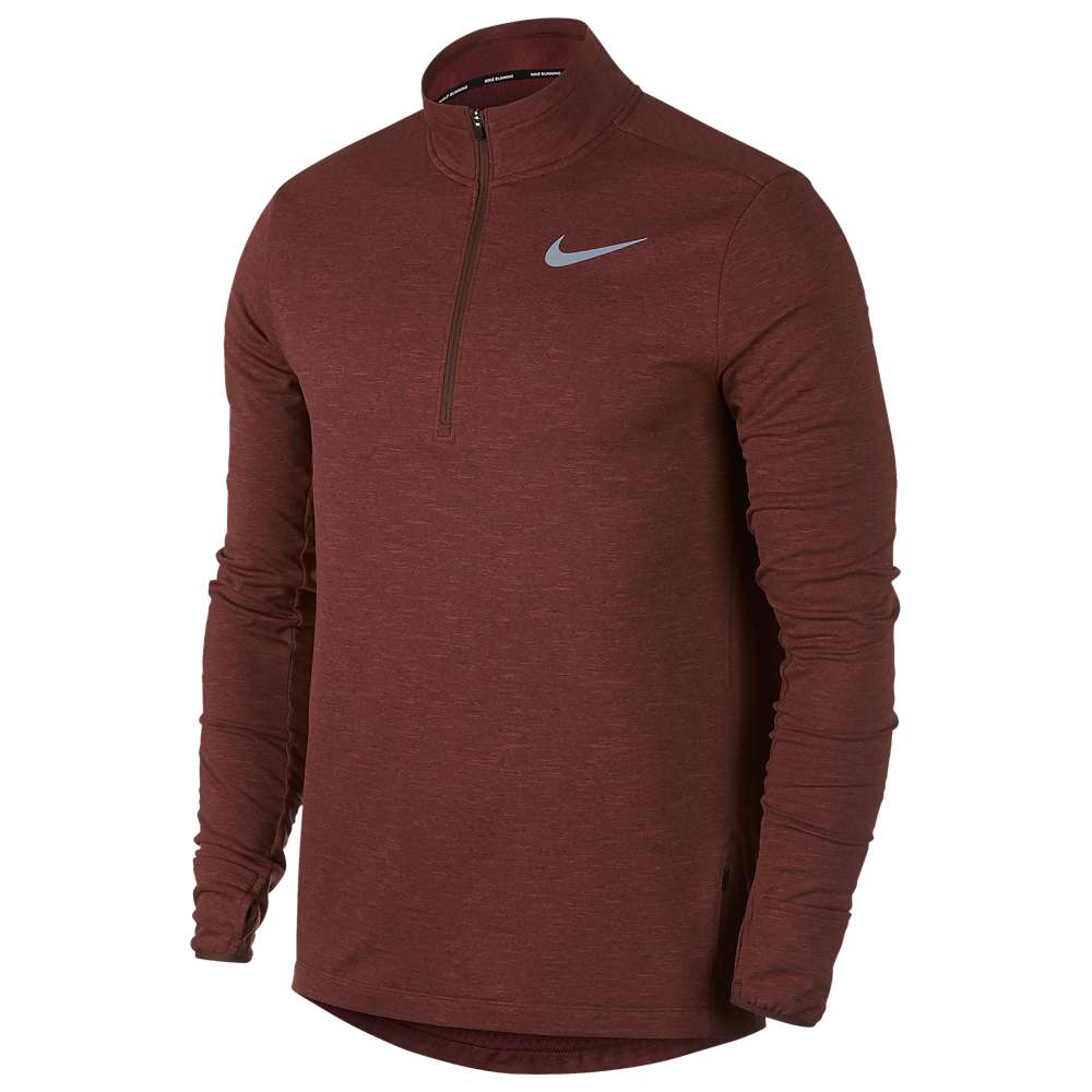 ナイキ Nike メンズ ランニング・ウォーキング トップス【Sphere Element 1/2 Zip 2.0 Top】Pueblo Brown/Heather/Reflective Silver