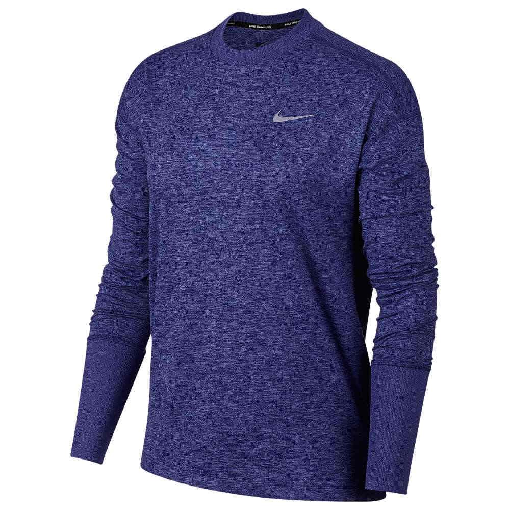 ナイキ Nike レディース フィットネス・トレーニング トップス【Element Crew Top】Regency Purple/Rush Violet/Heather