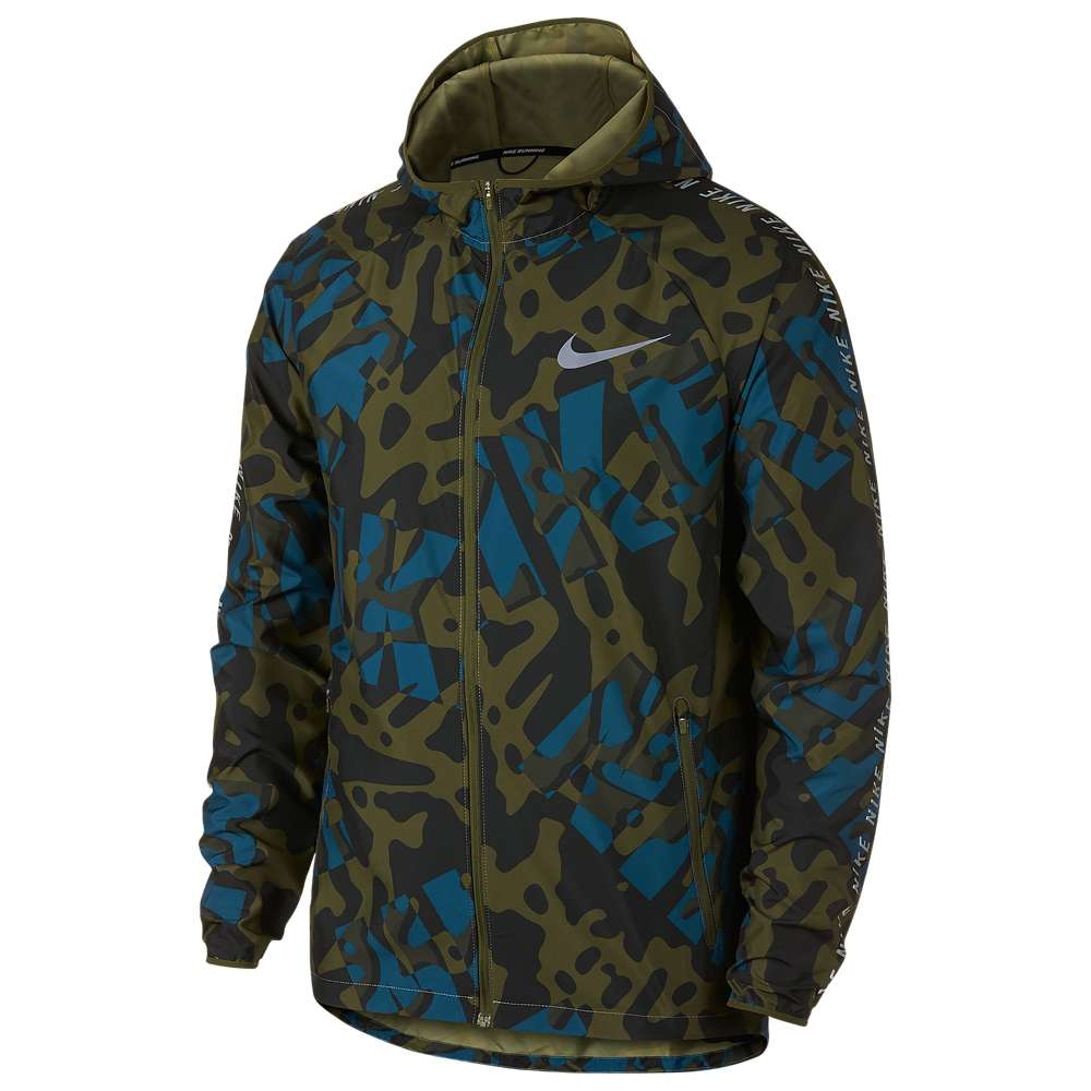 ナイキ Nike メンズ ランニング・ウォーキング アウター【Dri-FIT Essential Jacket】Olive Canvas/Neutral Olive