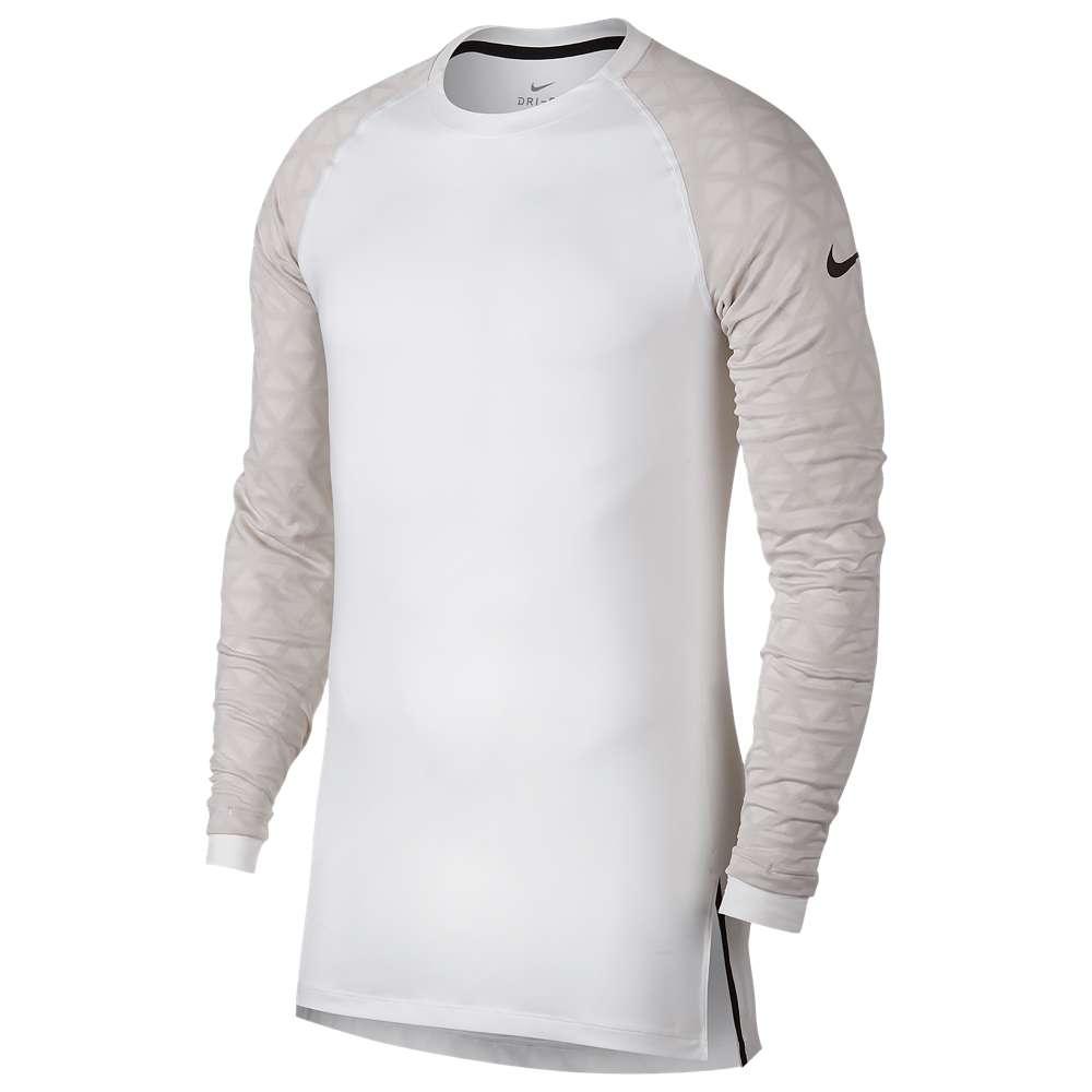 ナイキ Nike メンズ フィットネス・トレーニング トップス【Pro Therma Utility L/S Top】White/Atmosphere Grey/Black