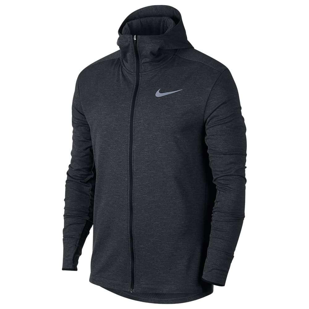 ナイキ Nike メンズ ランニング・ウォーキング アウター【Sphere Element Full-Zip Hoodie 2.0】Black/Heather
