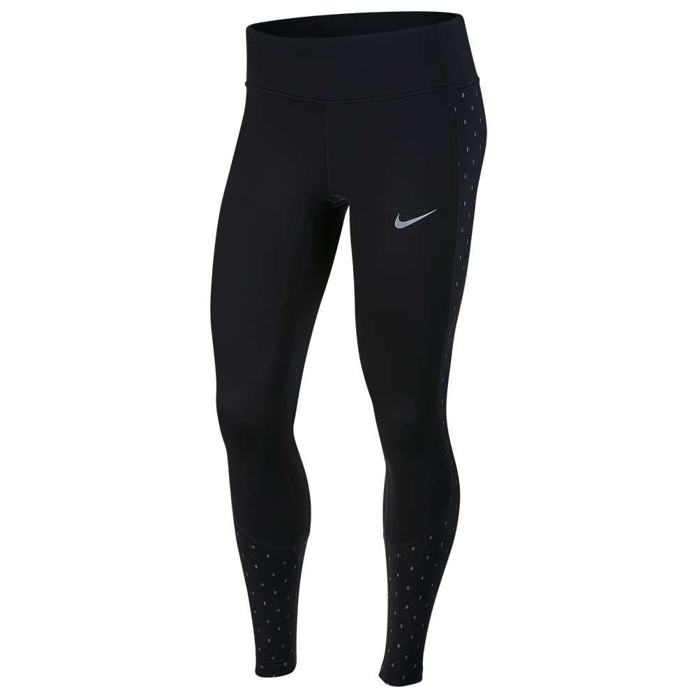 ナイキ Nike レディース ランニング・ウォーキング トップス【Racer Flash Tights】Black/Reflective Silver