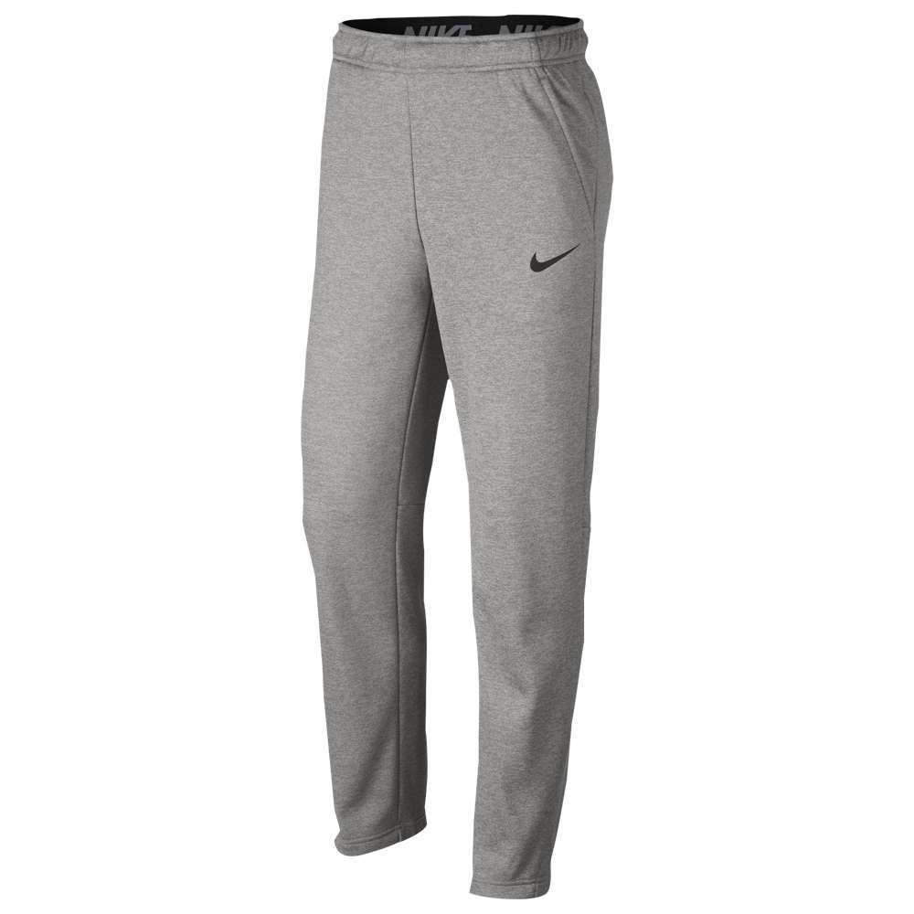 ナイキ Nike メンズ フィットネス・トレーニング ボトムス・パンツ【Therma Pants】Dark Grey Heather/Black