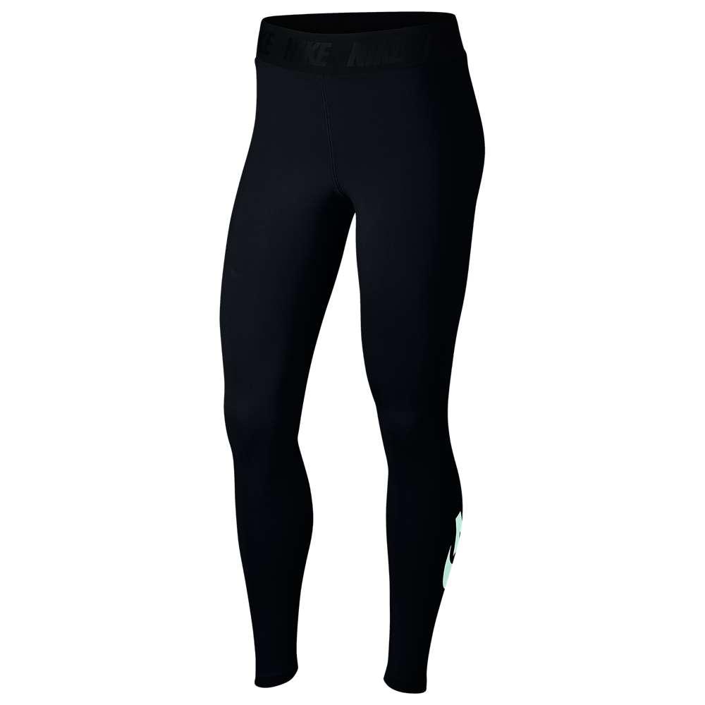 ナイキ Nike レディース インナー・下着 スパッツ・レギンス【High-Waisted Futura Logo Leggings】Black/Igloo