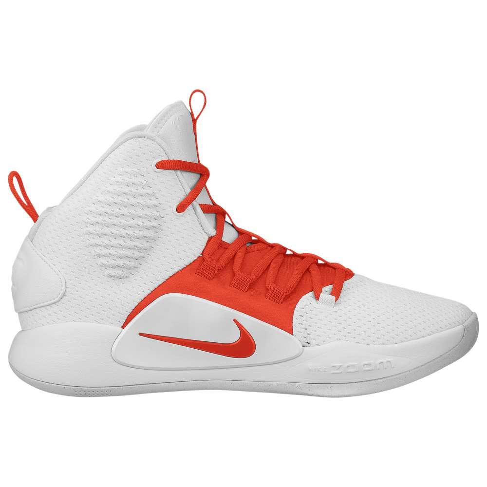 ナイキ Nike メンズ バスケットボール シューズ・靴【Hyperdunk X Mid】White/Team Orange