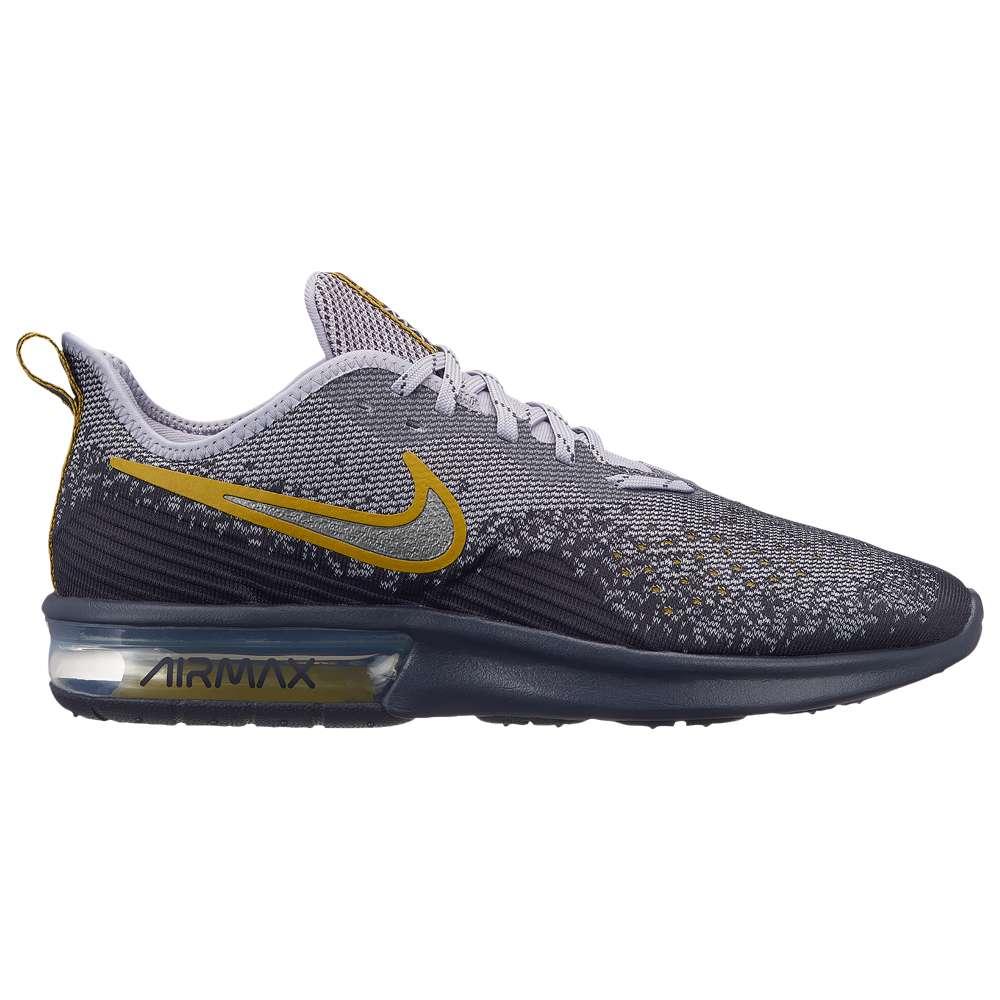 ナイキ Nike メンズ ランニング・ウォーキング シューズ・靴【Air Max Sequent 4】Gridiron/Metallic Pewter/Provence Purple/White