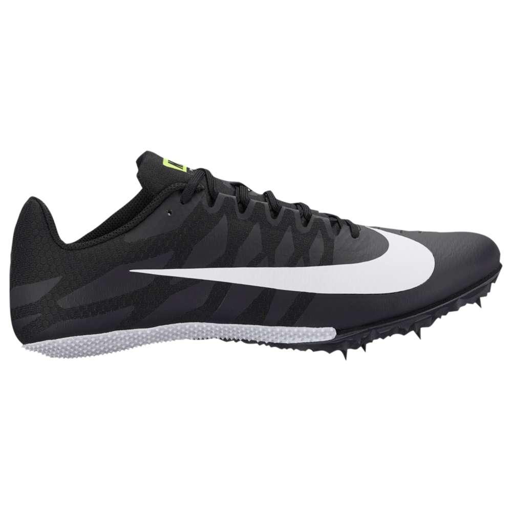 ナイキ Nike メンズ 陸上 シューズ・靴【Zoom Rival S 9】Black/White/Volt