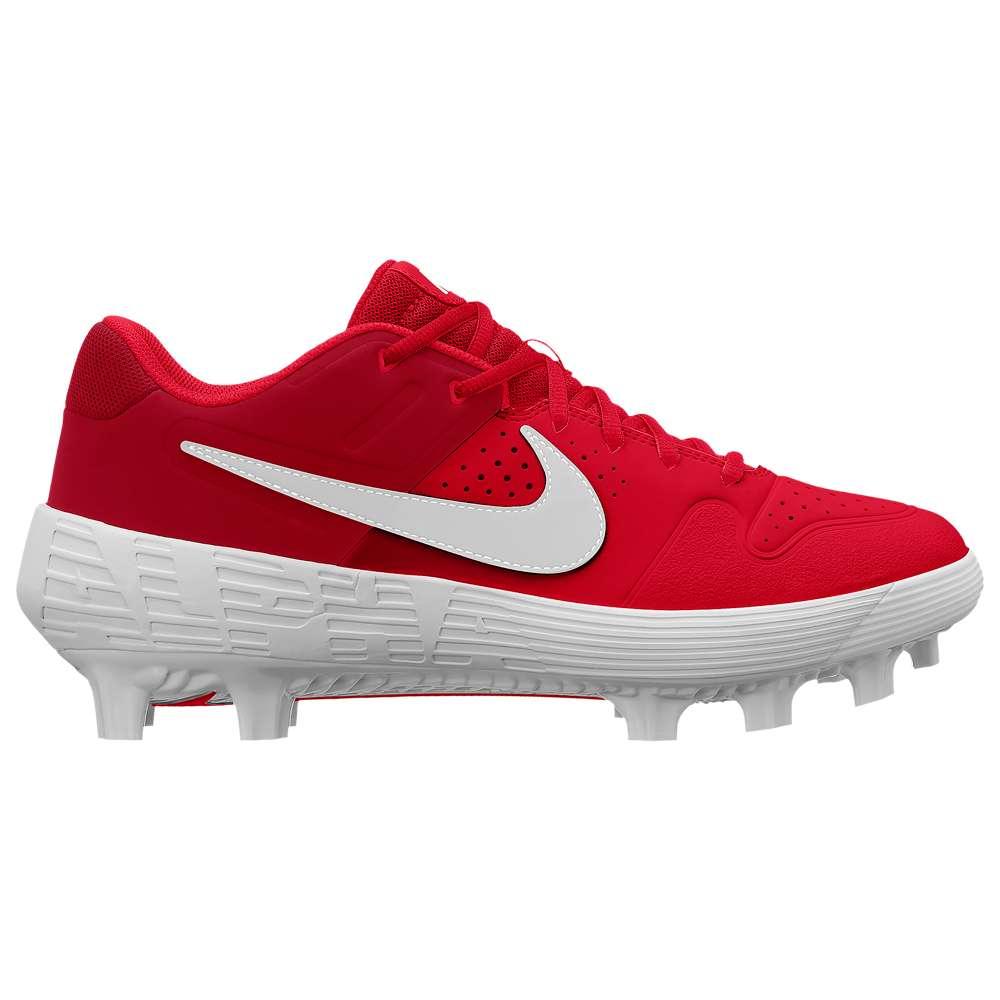 ナイキ Nike メンズ 野球 シューズ・靴【Alpha Huarache Varsity Low MCS】University Red/White/Gym Red
