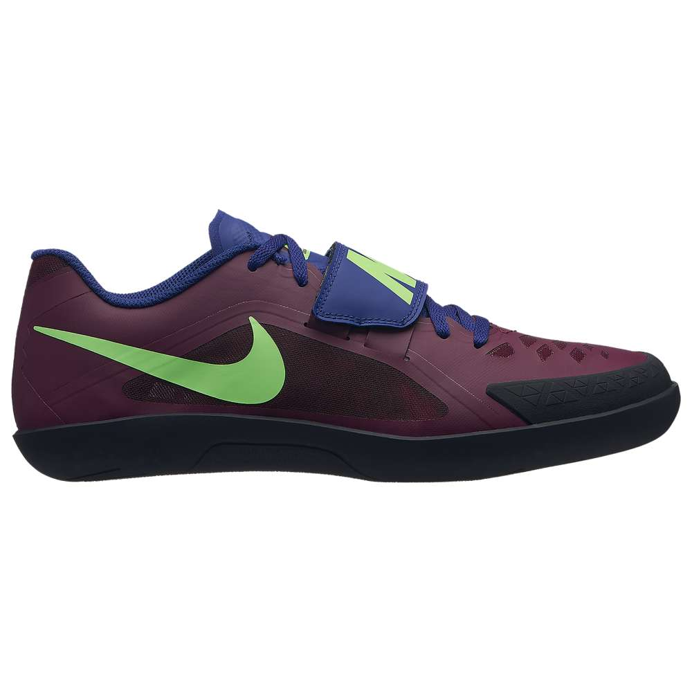 ナイキ Nike メンズ 陸上 シューズ・靴【Zoom Rival SD 2】Bordeaux/Lime Blast/Regency Purple