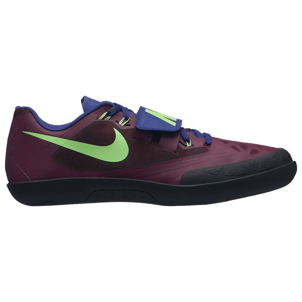 ナイキ Nike メンズ 陸上 シューズ・靴【Zoom SD 4】Bordeaux/Lime Blast/Regency Purple