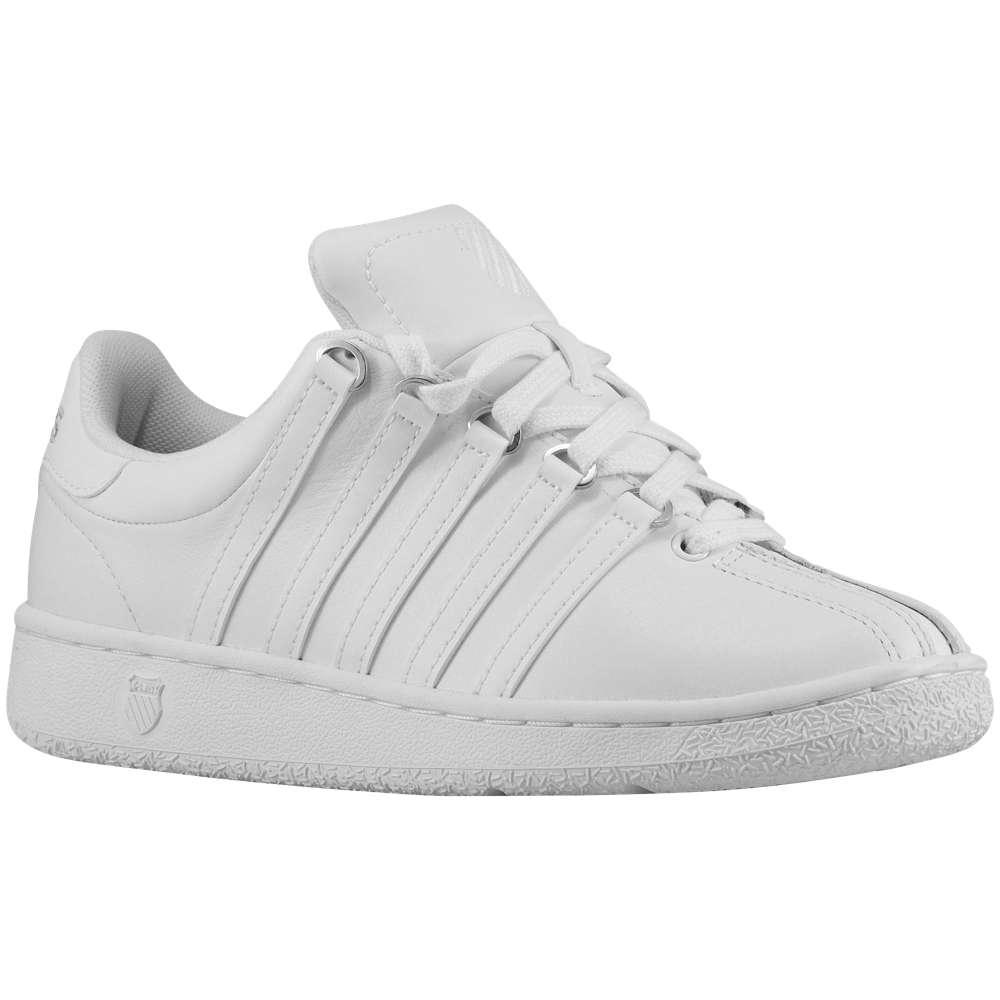 ケースイス K-Swiss レディース テニス シューズ・靴【Classic VN】White/White