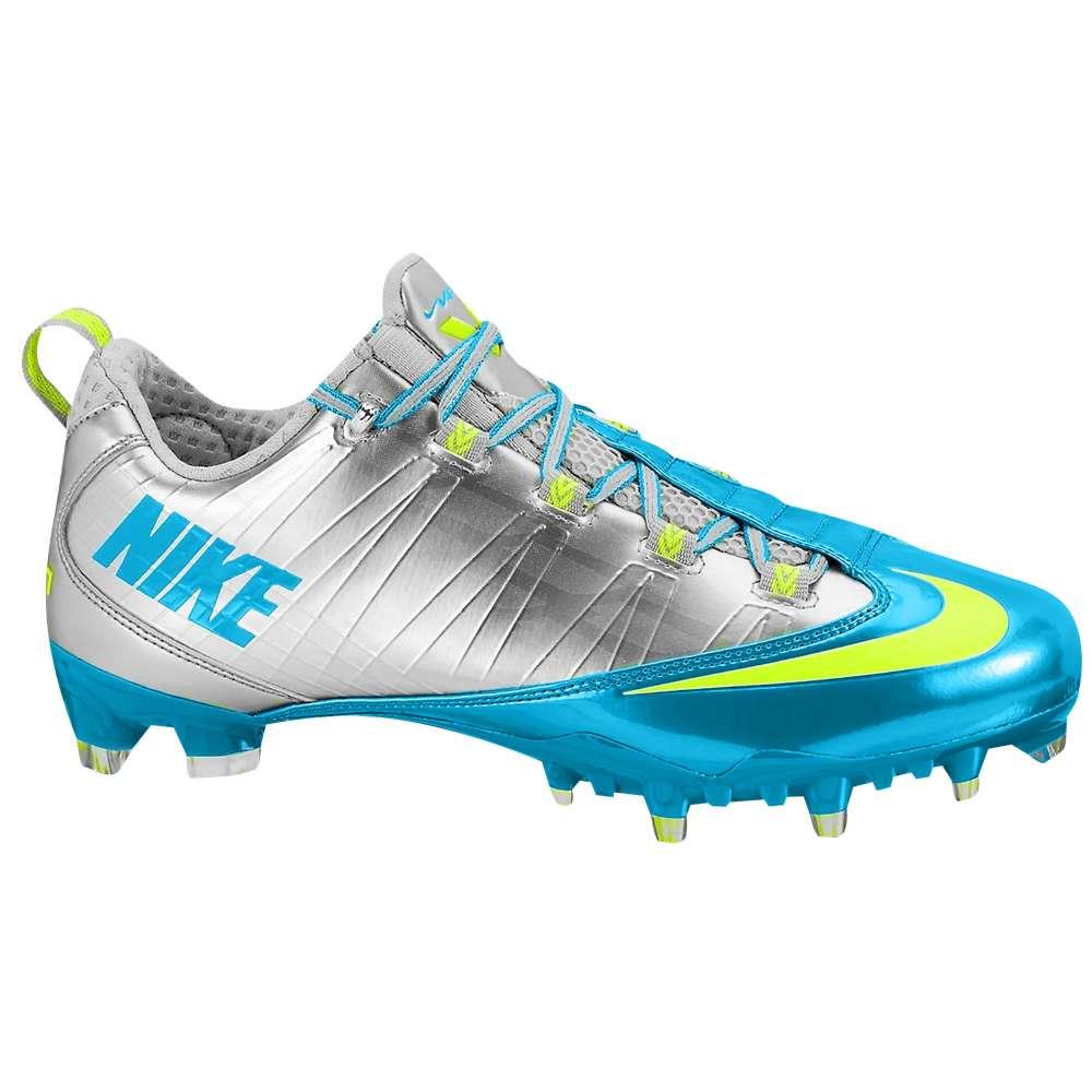 ナイキ Nike メンズ アメリカンフットボール シューズ・靴【Zoom Vapor Carbon Fly 2 TD】Metallic Silver/Volt/Neo Turquoise