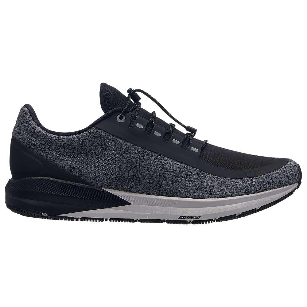 ナイキ Nike メンズ ランニング・ウォーキング シューズ・靴【Air Zoom Structure 22 Shield】Black/Metallic Silver/Cool Grey/Vast Grey
