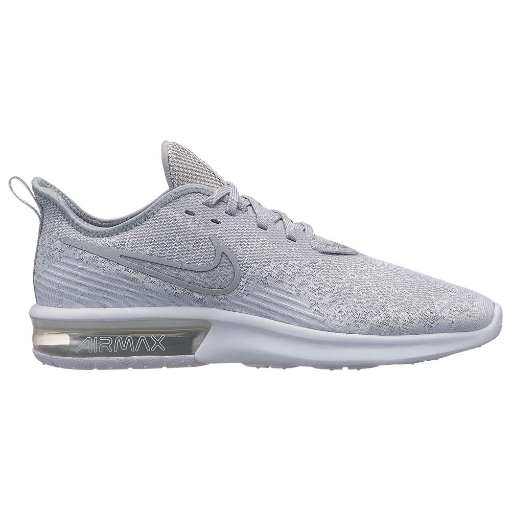 ナイキ Nike メンズ ランニング・ウォーキング シューズ・靴【Air Max Sequent 4】White/White/Wolf Grey/Wolf Grey