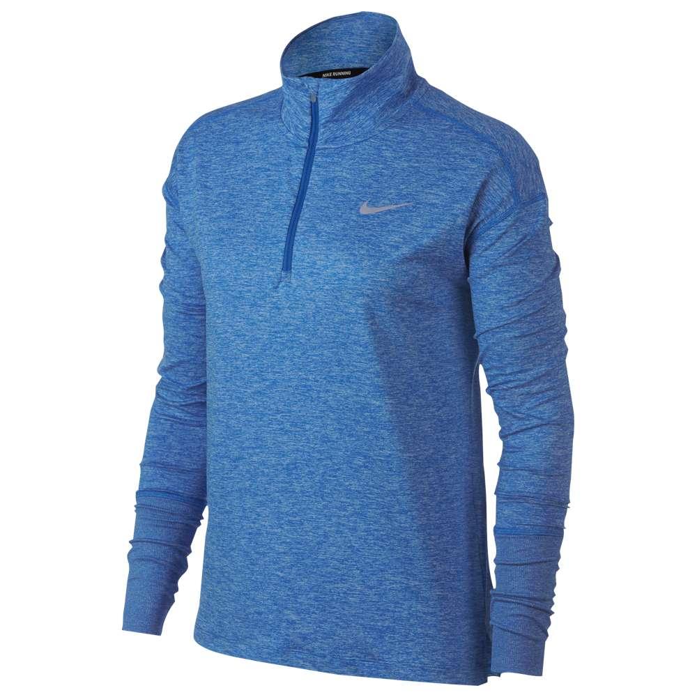 ナイキ Nike レディース フィットネス・トレーニング トップス【Element 1/2 Zip Top】Signal Blue/Cobalt Tint/Heather