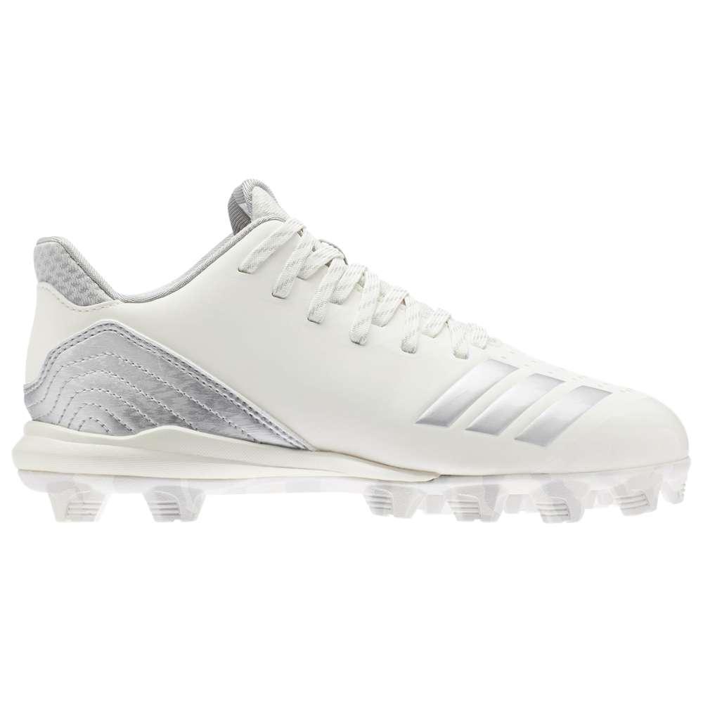 アディダス adidas レディース 野球 シューズ・靴【Icon 4 MD】Cloud White/Metallic Silver/Grey