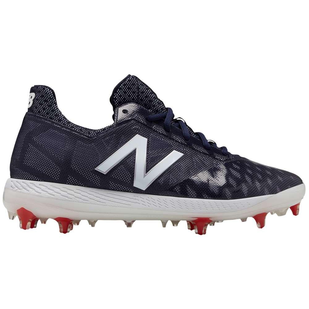 ニューバランス New Balance メンズ 野球 シューズ・靴【COMPV1 TPU Low】Navy/White