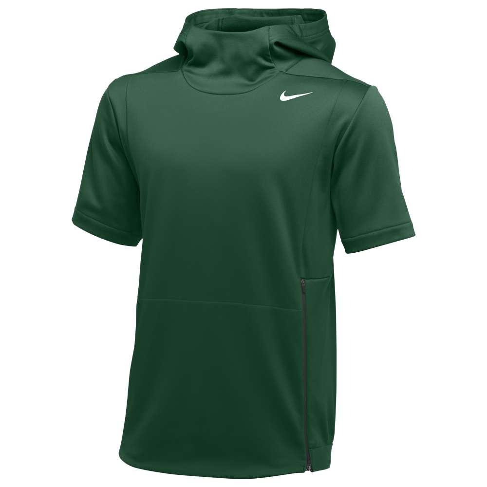 ナイキ Nike メンズ トップス【Team Authentic Therma S/S Top】Gorge Green/Black/White