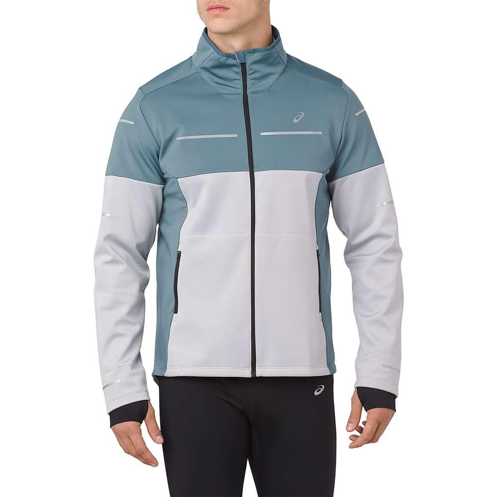 アシックス ASICS メンズ ランニング・ウォーキング アウター【Lite-Show Winter Jacket】Mid Grey