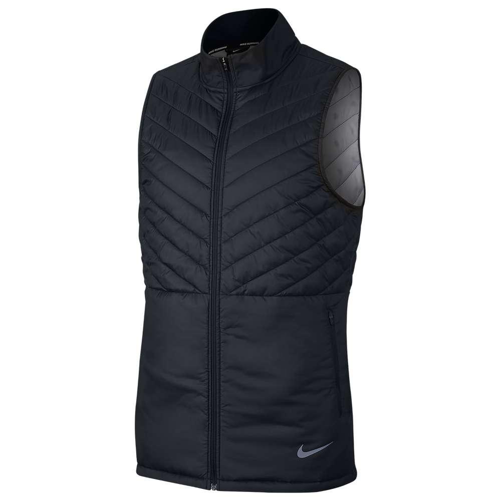 ナイキ Nike メンズ ランニング・ウォーキング トップス【Aerolayer Vest】Black/Black/Atmosphere Grey/Reflective Silver