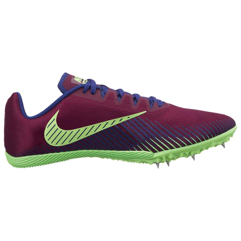 ナイキ Nike メンズ 陸上 シューズ・靴【Zoom Rival M 9】Bordeaux/Regency Purple/Lime Blast