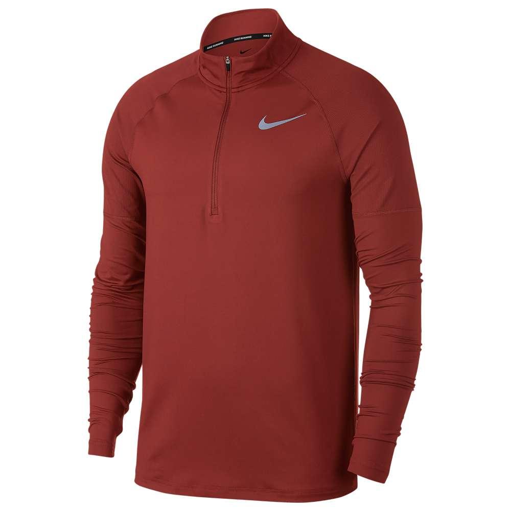 ナイキ Nike メンズ ランニング・ウォーキング トップス【Element 1/2 Zip 2.0】Dune Red/Reflective Silver