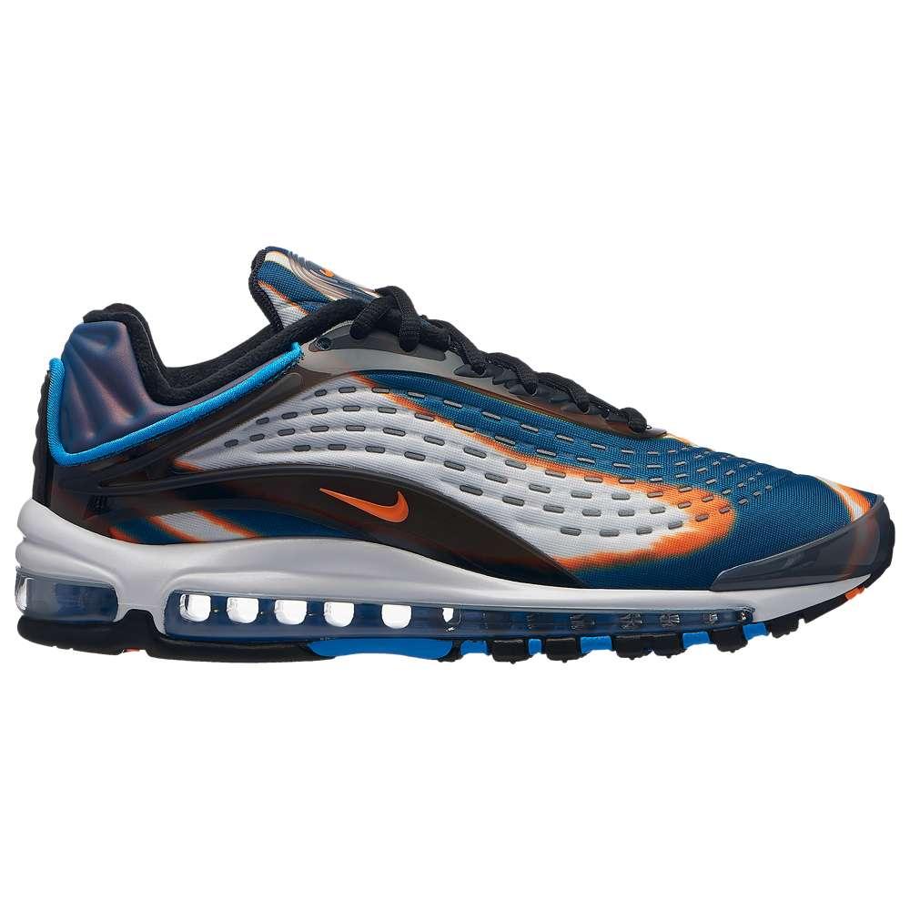 ナイキ Nike メンズ ランニング・ウォーキング シューズ・靴【Air Max Deluxe】Cool Grey/Total Orange/Blue Force/Black