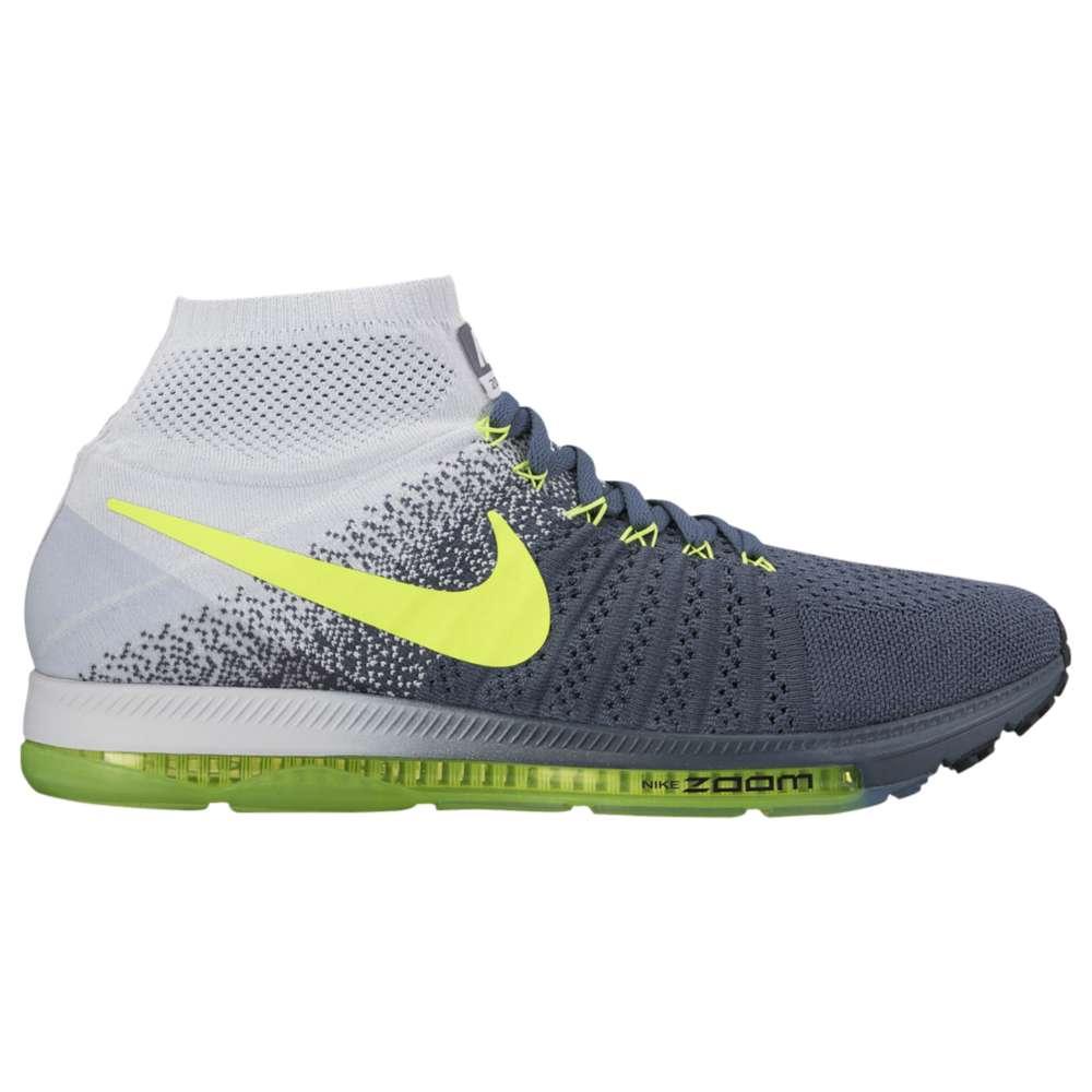 ナイキ Nike メンズ ランニング・ウォーキング シューズ・靴【Zoom All Out Flyknit】Blue Fox/Pure Platinum/Black/Volt