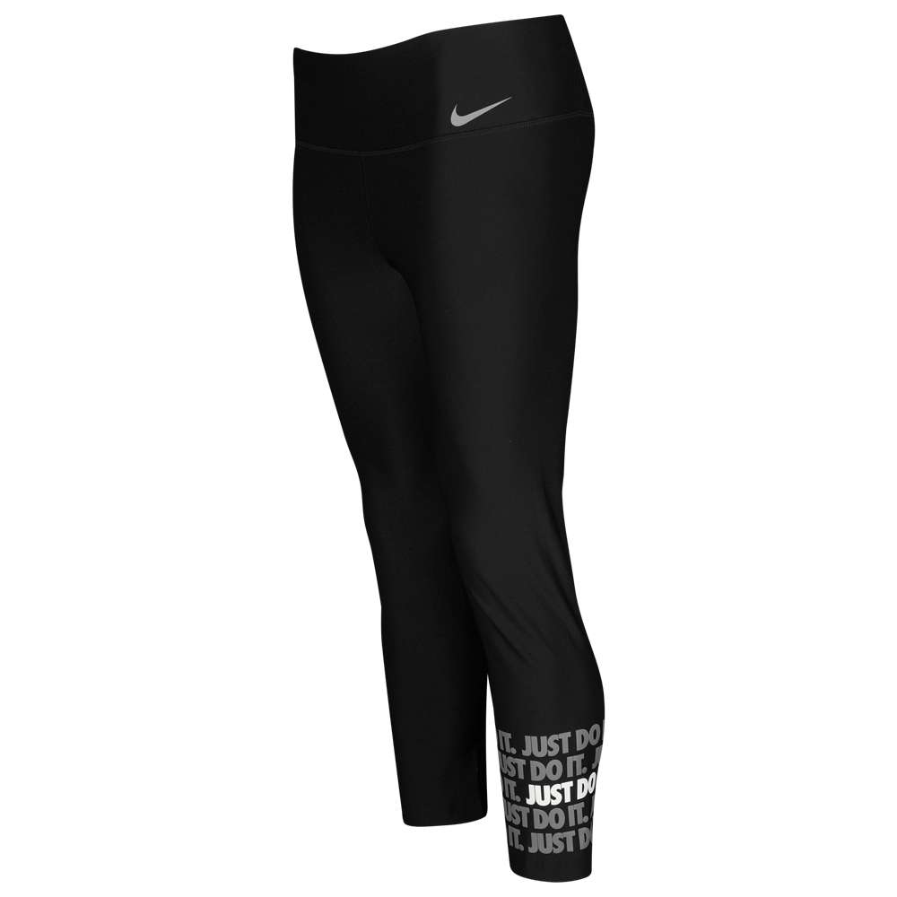 ナイキ Nike レディース フィットネス・トレーニング ボトムス・パンツ【JDI Power Crop Tights】Black/White