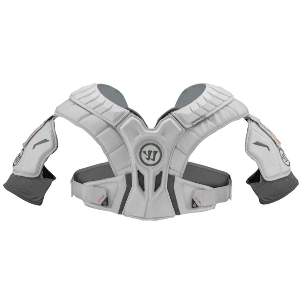 ウォーリアー Warrior メンズ ラクロス プロテクター【Burn Pro Hitlyte Shoulder Pad】White