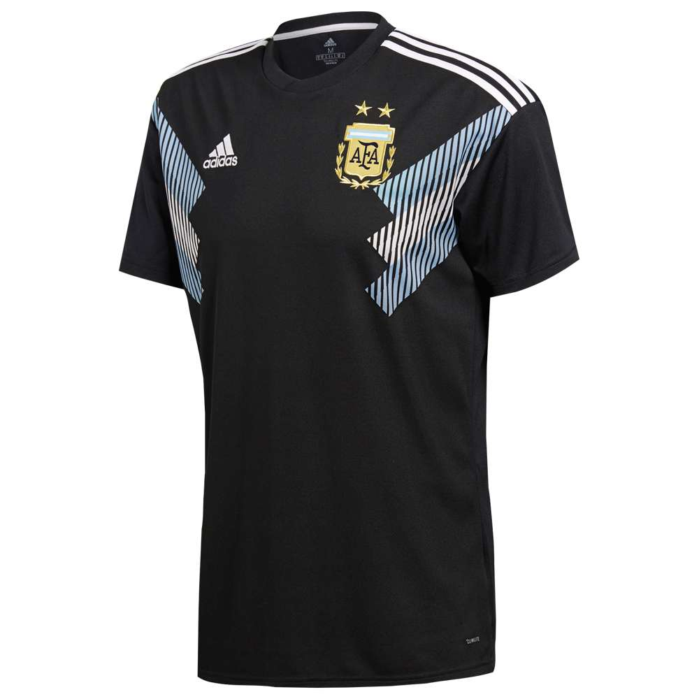 アディダス adidas メンズ サッカー トップス【Argentina Climalite Replica Jersey】Black/Clear Blue/White