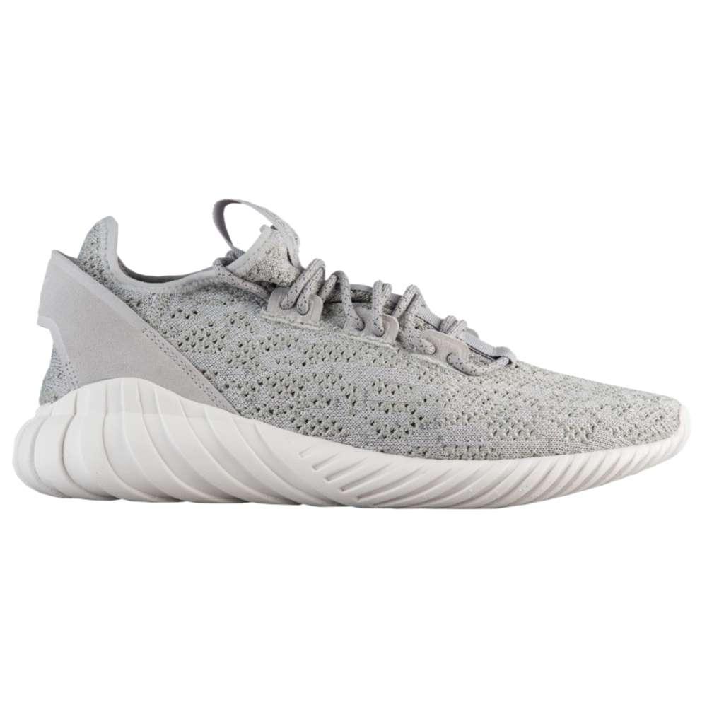アディダス adidas Originals メンズ ランニング・ウォーキング シューズ・靴【Tubular Doom Sock Primeknit】Grey/White/Grey