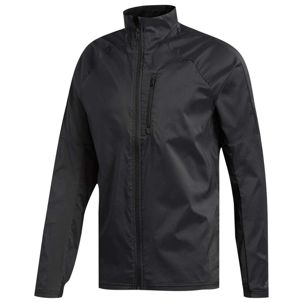 アディダス adidas メンズ ランニング・ウォーキング アウター【Confident 3 Season Jacket】Black/Colored Heather