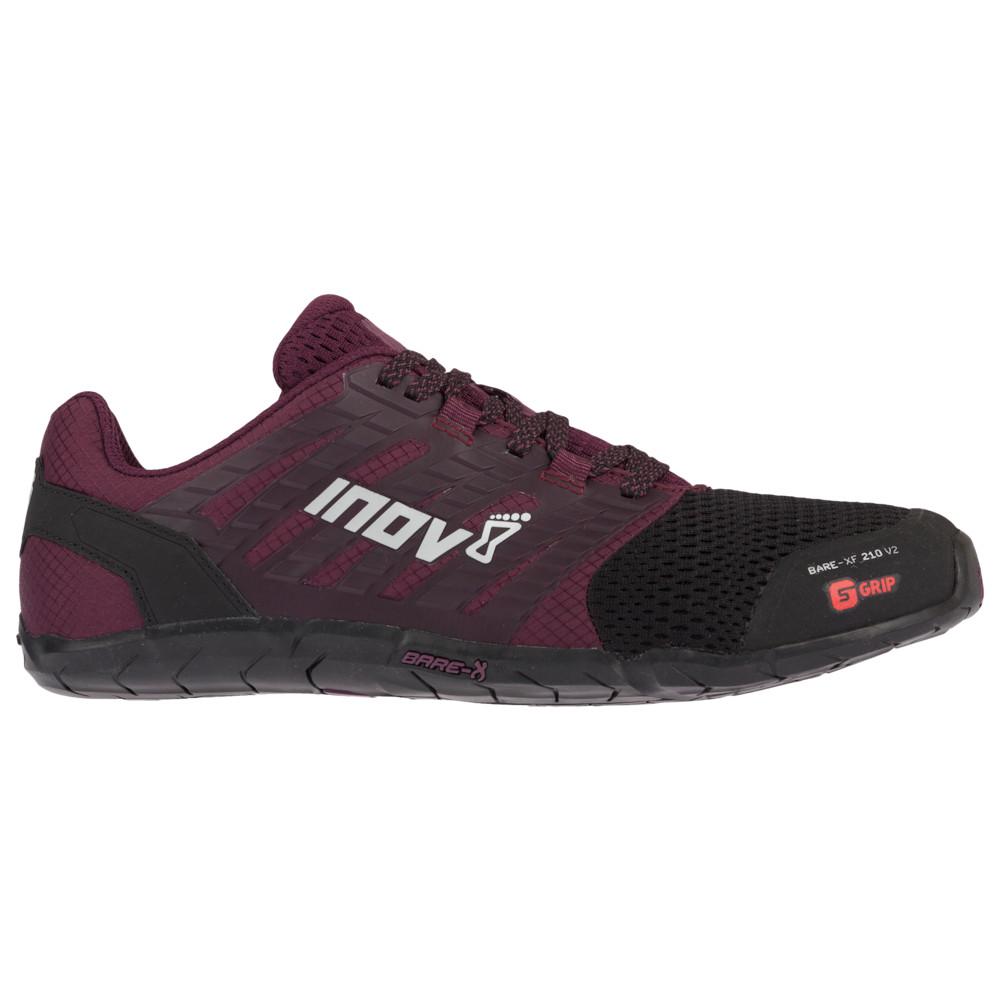 イノヴェイト Inov-8 レディース フィットネス・トレーニング シューズ・靴【Bare-XF 210 V2】Black/Purple