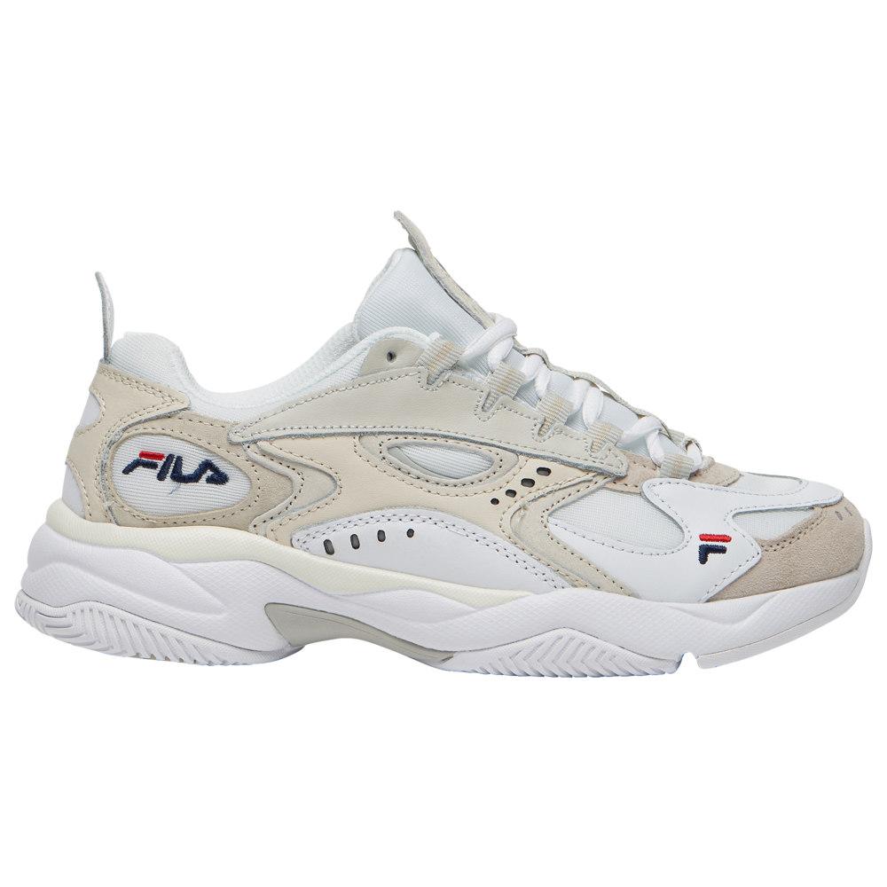 フィラ Fila レディース ランニング・ウォーキング シューズ・靴【Boveasorus】White/Off White/Green