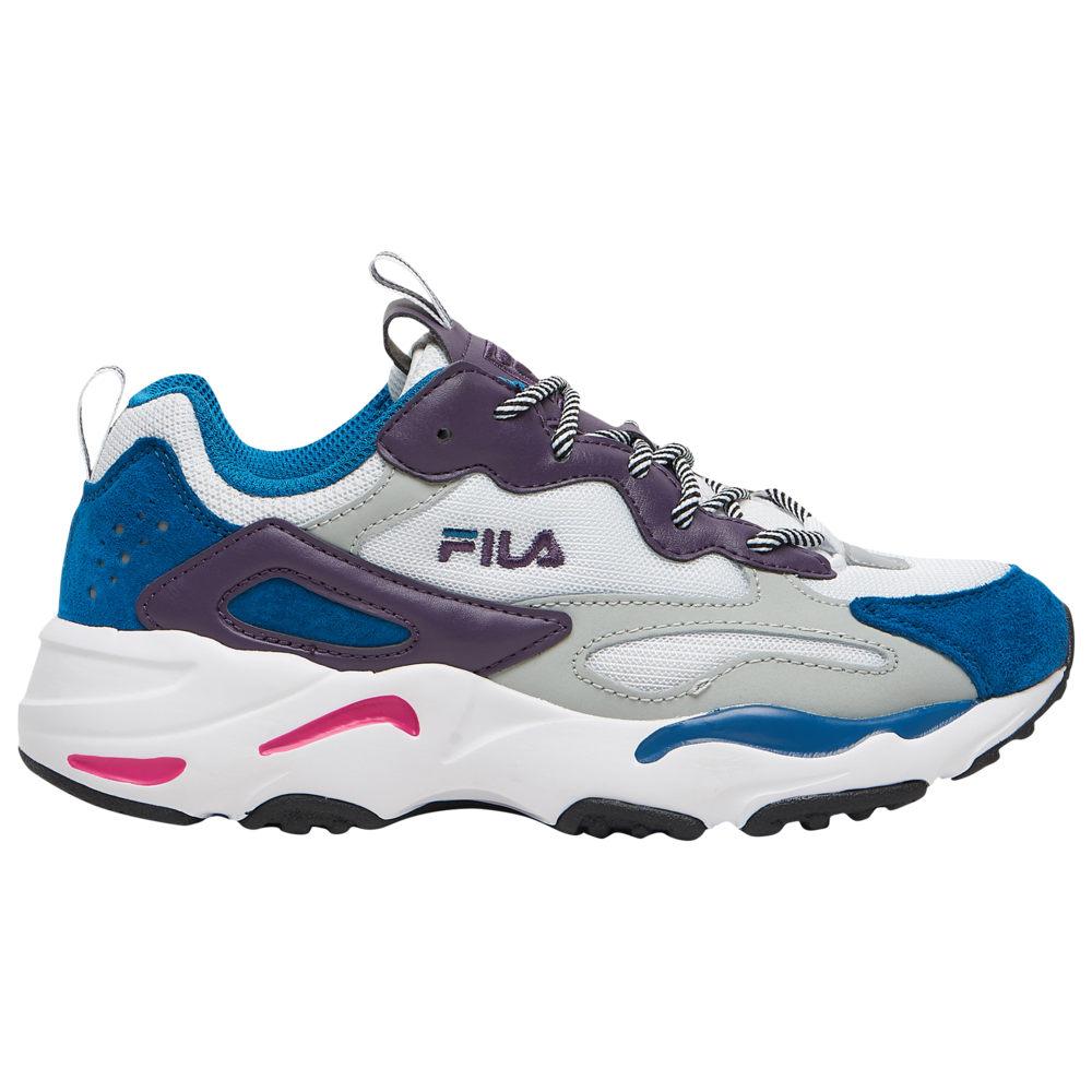フィラ Fila レディース ランニング・ウォーキング シューズ・靴【Ray Tracer】White/Purple/Teal