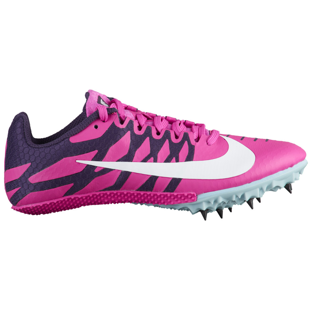 ナイキ Nike レディース 陸上 シューズ・靴【Zoom Rival S 9】Fuchsia Blast/White/Grand Purple