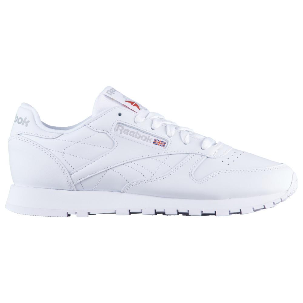 リーボック Reebok レディース ランニング・ウォーキング シューズ・靴【Classic Leather】White/White